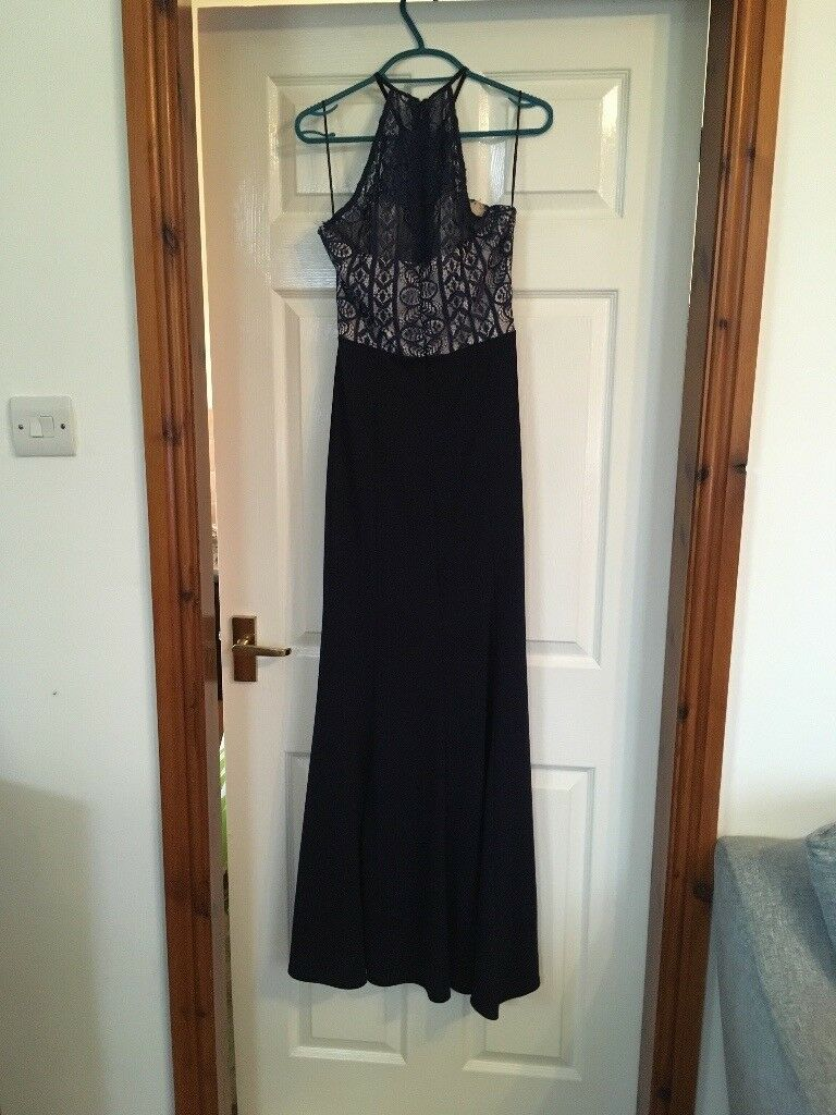 Lipsy London floor length Dress with slit up the side