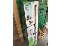 Florabest Garden Petrol Tool 4 in 1, lawn trimmer, strimmer, Hedge shears & pruner