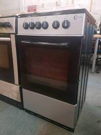 Flavel silver freestanding electric cooker