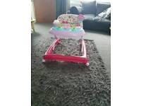 Little girls baby walker