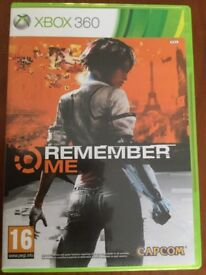 Remember Me Xbox 360 games