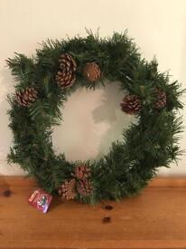 Artificial Christmas Wreath.