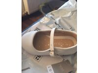 Brand new in bag next white Mary Janes size 5