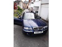 car for sale, rover 45 v6 club 2L auto 12 months mot