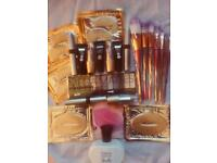 Brush set and makeup and perfume