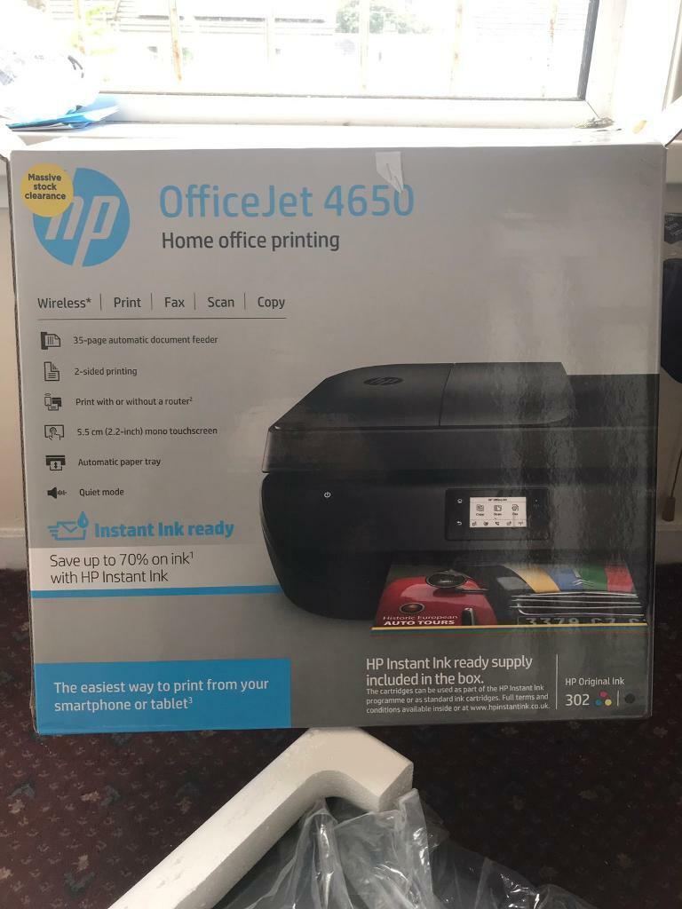 HP OfficeJet 4650 Wireless Printer | in Aberdeen | Gumtree
