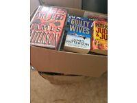James Patterson books.