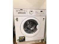 BRAND NEW ZANUSSI ZWI71401WA INTEGRATED WASHING MACHINE WASHER