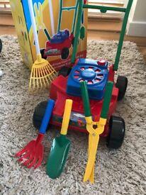 Summer Fun Toy Lawn Mower (Used)