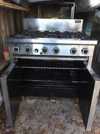 Cobra 6 burner commercial cooker