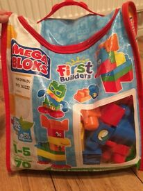 Mega bloks first builders 70 pieces