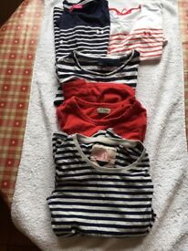 Bundle of 5 tee shirts fron avenue/gap and next age 8-9