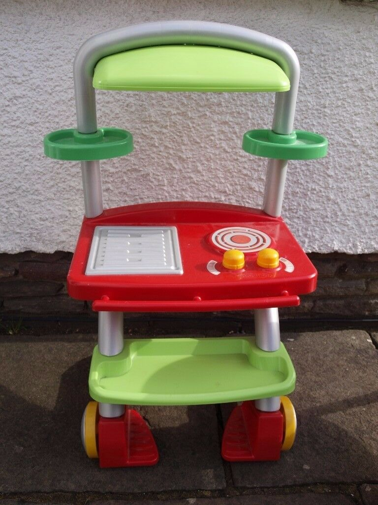 Ecoiffier Children's toy BBQ/Ovens. Good condition. £4 each.
