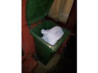 £ 15 rubbish removal £ 15