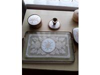 Dressing table set - vintage