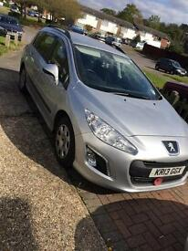 Peugeot 308sw (reduced by £500)