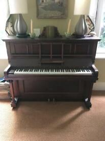 FREE!! Brown wood piano collection only Histon