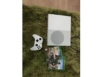 Xbox one s with 2 games