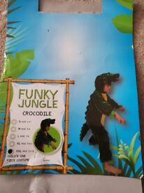 Children's Crocodile Costume - XXL Age 11-13