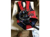 Trapeze harness for sailing dinghy