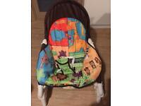Baby Vibration Musical Bouncer Rocker Chair