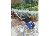 Golf bag and trolley for sale