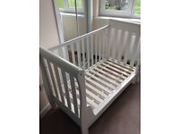 White Cot/Bed by Babymore