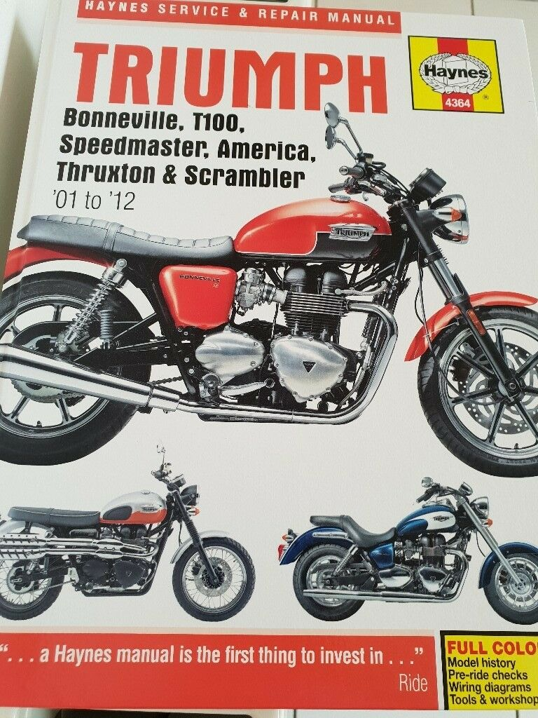 Triumph Bonneville Haynes Service & Repair Manual