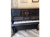 FREE FULL SIZE LOUIS PABST & CO PIANO GREAT CONDITION FREE.