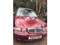 Rover 45 for sale beautiful car**long mot**