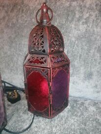 Moroccan Lamp and Light Shade