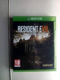 Resident e.vil 7 Xbox one