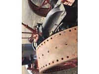 International 1020 tractor restoration classic and very rare tractor circa 1930's