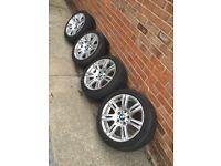 Genuine BMW M SPORT Alloy wheels 17inch