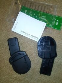 Mamas & Papas cybex Aton car seat adaptors Paulton or Stapleton as new