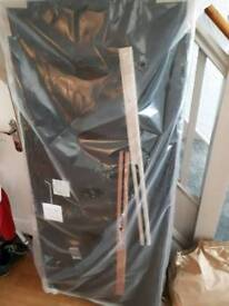 **Brand new** Brown Faux leather Headboard