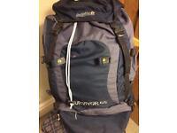 Regatta surviver 65litre rucksack.