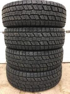 New set of 265/70R17 all terrain winter tires