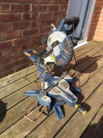 MacAllister 1400w 210mm Mitre saw with Laser