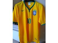 New Brazil football top