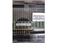Samsung 32GB DDR4 Server Memory Modules New