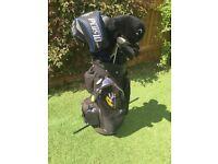 Golf clubs - full set inc bag
