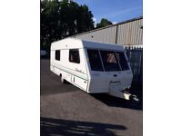 BESSCARR WENTWORTH Xl 4 BERTH TOURING CARAVAN SEPARATE SHOWER, READY FOR HOLIDAYS IDEAL STARTER
