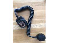 NEW - Canon DLSR off camera shoe cord / cable - good for Speedlite