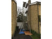 Alloy scaffold tower full size 7.0m used