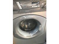 Hotpoint washing machine (silver)