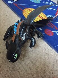 Large toothless dragon from film