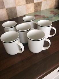 Set of 6 mugs