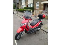 2004 PIAGGIO BEVERLY RED 250cc