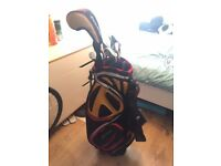 Taylor Made R7 XD Irons, Bag And Driver.